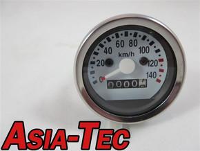 B-Qualität TACHO HONDA MONKEY Z50J Z50A 140 Km/h Weiß