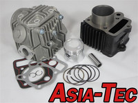 12V 72CCM BIG BORE CYLINDER CYLINDERHEAD KIT 12V HONDA...